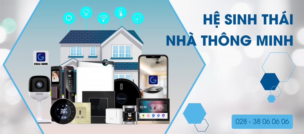 Hệ sinh thái nhà thông minh goman smart home là giải pháp nhà thông minh đến từ Đức toàn diện, đầy đủ nhất tại Việt Nam hiện nay
