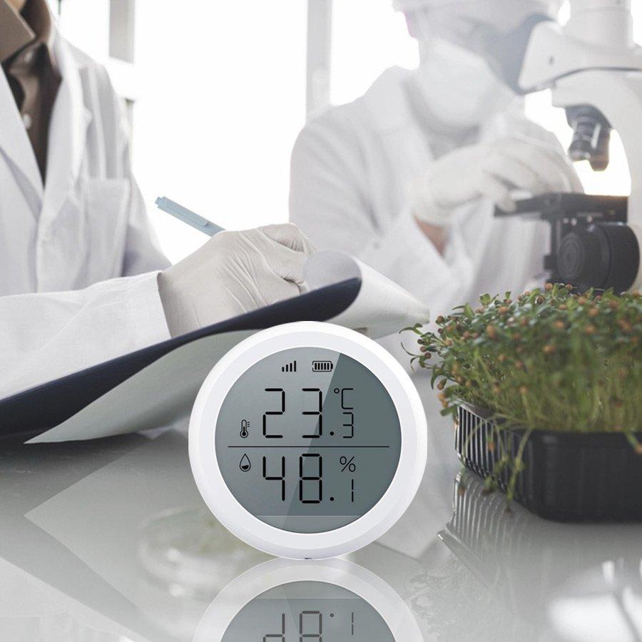 cảm biến nhiệt độ độ ẩm Zigbee2